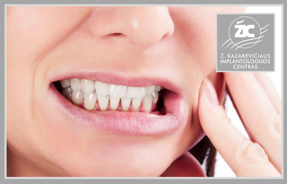 Griežimas dantimis (bruksizmas) – atsiradimo priežastys ir pasekmės