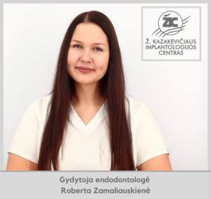 gydytoja endodontologė